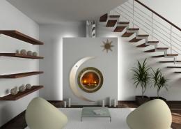 3D render modern interior of living-room - France Turbo